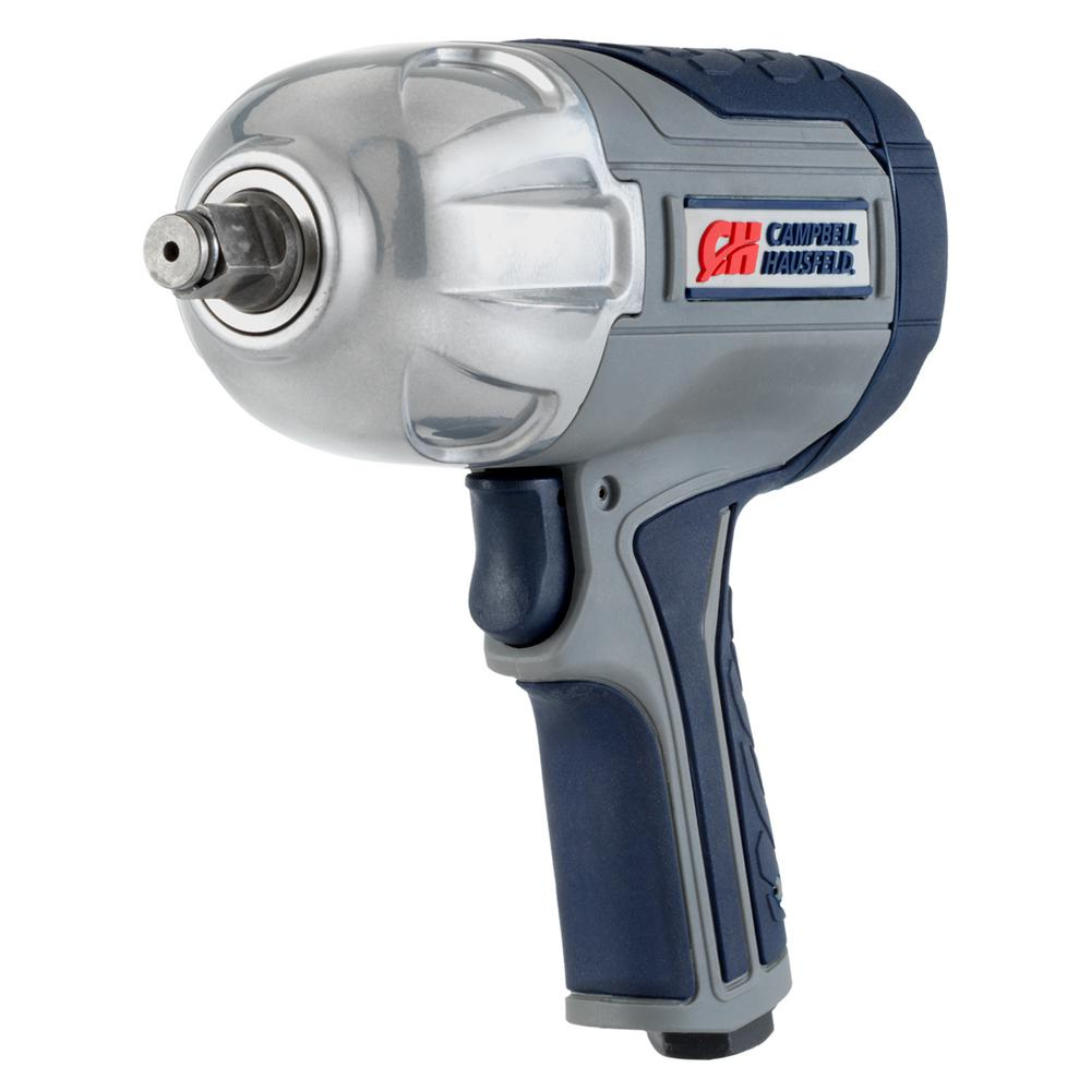Get Stuff Done 1/2 in. Air Impact Wrench, Twin Hammer, Variable