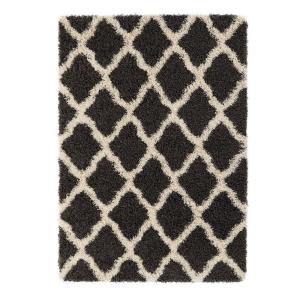 Sweet Home Stores Cozy Shag Collection Charcoal Gray And