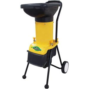 DuroStar 14 Amp Electric Chipper Shredder with 1.25 Diameter Feed. by