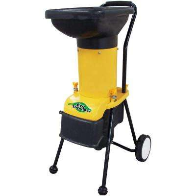DuroStar 14 Amp Electric Chipper Shredder with 1.25 Diameter Feed.