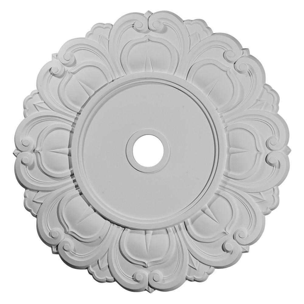 ceiling home depot the p millwork medallions stockport medallion flower ekena in