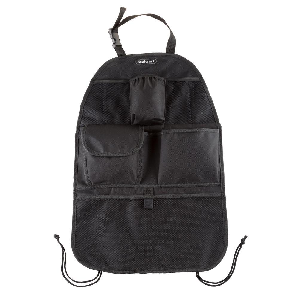 6-Pocket Polyester Backseat Travel Bag