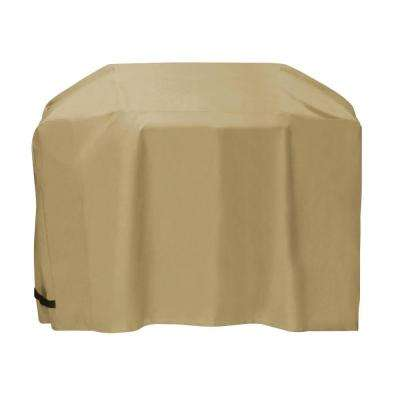 60 in. Cart Style Grill Cover in Khaki