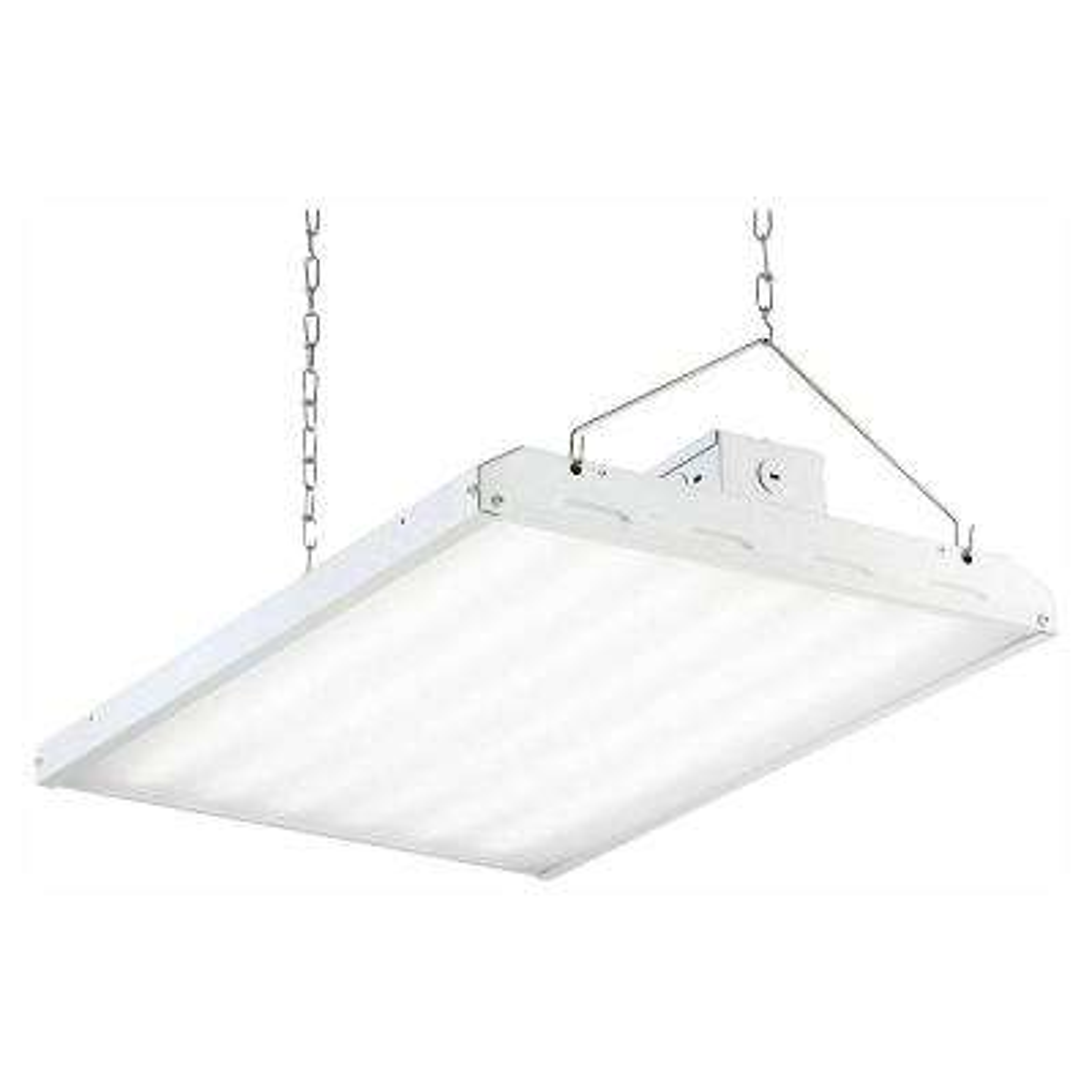 135-Watt 2 ft. White Integrated LED Backlit High Bay Hanging Light with 17420 Lumens 5000K