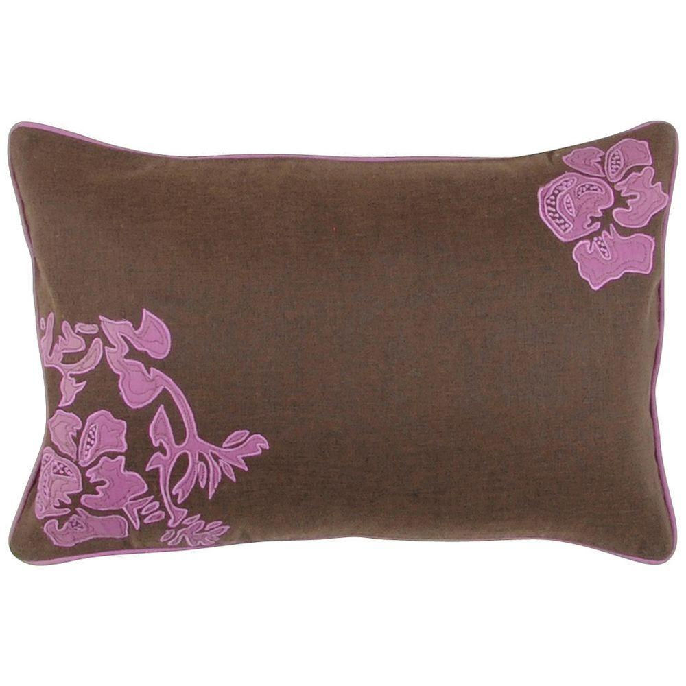 Artistic Weavers FloraC 13 in. x 20 in. Decorative Down Pillow
