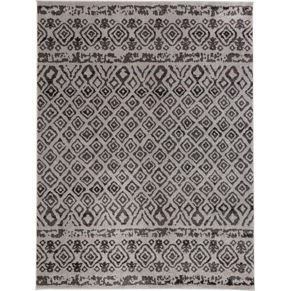 Home Decorators Collection Tribal Essence Gray 5 Ft X 7 Area Rug