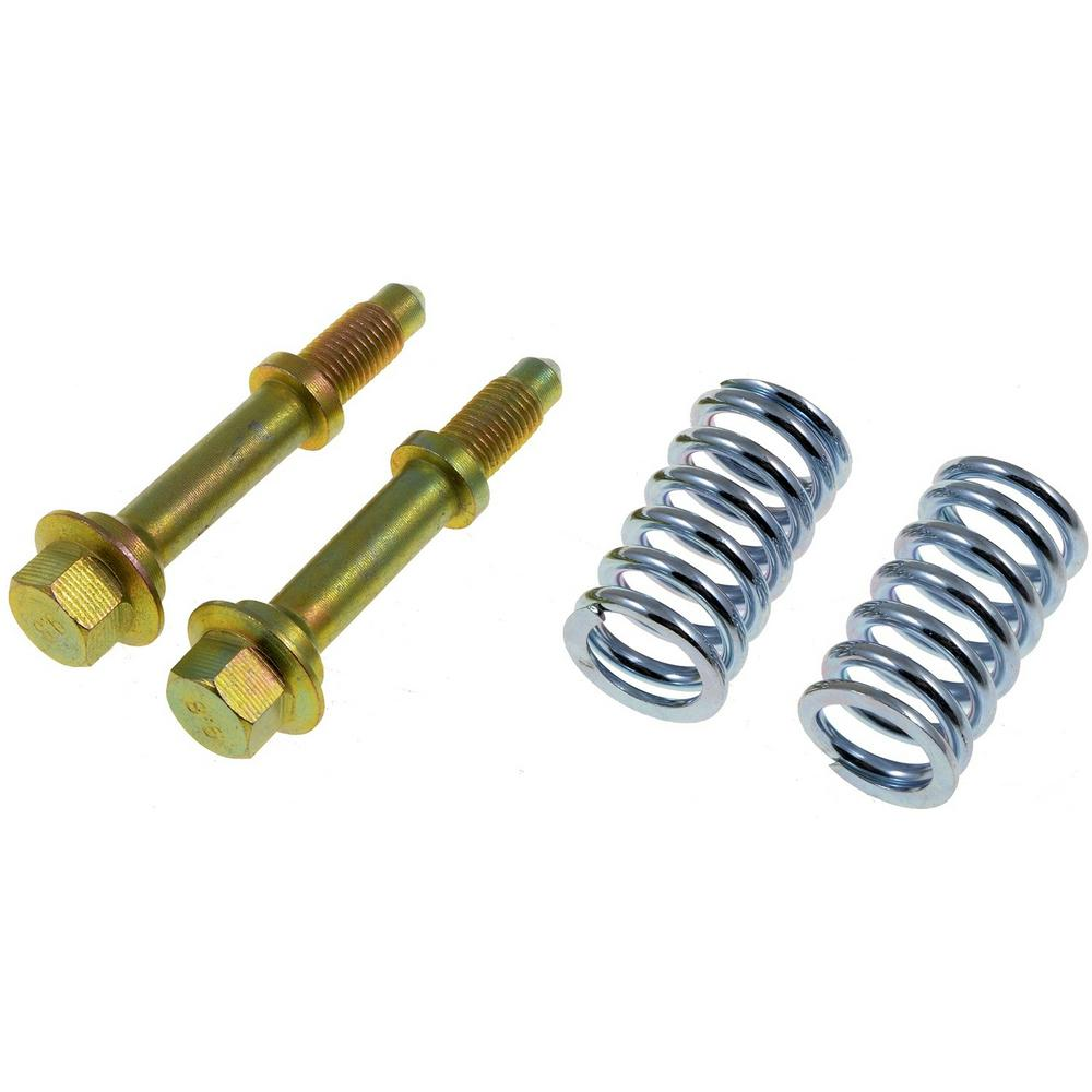 Autograde Exhaust Bolt and Spring - (2) Springs (2) Studs