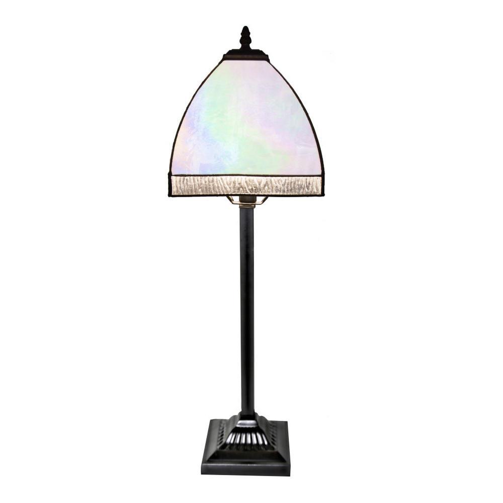 Home Goods Lighting: River Of Goods 25 In. Opalescent Bent Panel Table Lamp