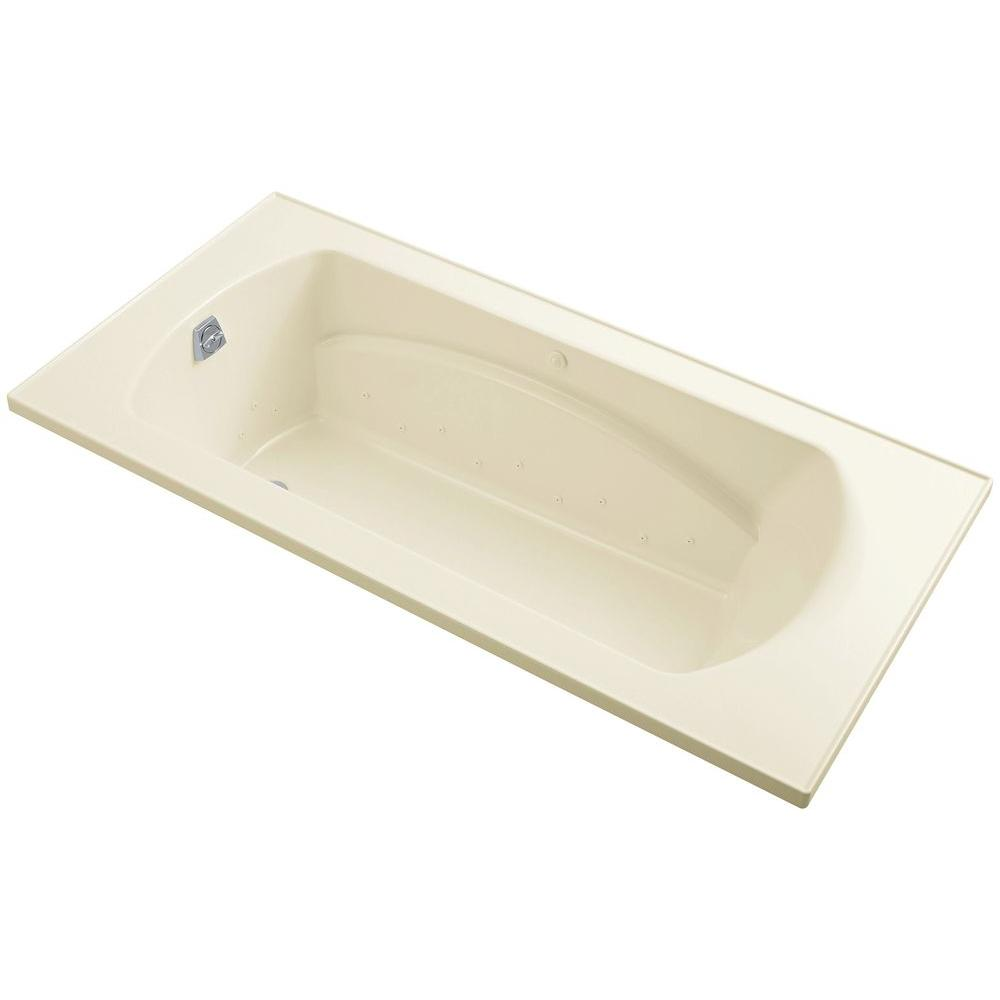 Sterling Lawson 6 Ft Air Bath Tub In Biscuit 77301100 96