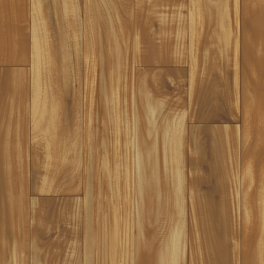 Trafficmaster Acacia Plank Natural 13 2 Ft Wide X Your Choice Length Residential Vinyl Sheet Flooring