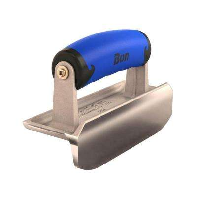 6 in. x 2-1/4 in. Concrete Bullet Hand Edger with Comfort Wave Handle