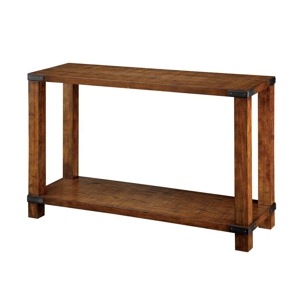 Dallas Dark Oak Sofa Table