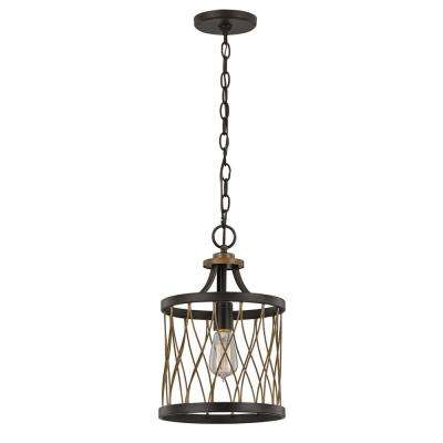 Tahoe 1-Light Rubbed Oil Bronze Pendant