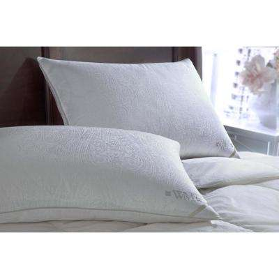 Wesley Mancini Collestion 300TC Yarn Dyed Goose Down Side Sleeper King Pillow