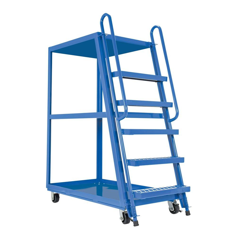 Vestil 28 In X 52 In 3 Shelf Hi Frame Stock Picker Truck Sps Hf