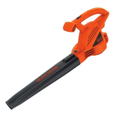 180 MPH 220 CFM 7-Amp Corded Electric Handheld Leaf Blower