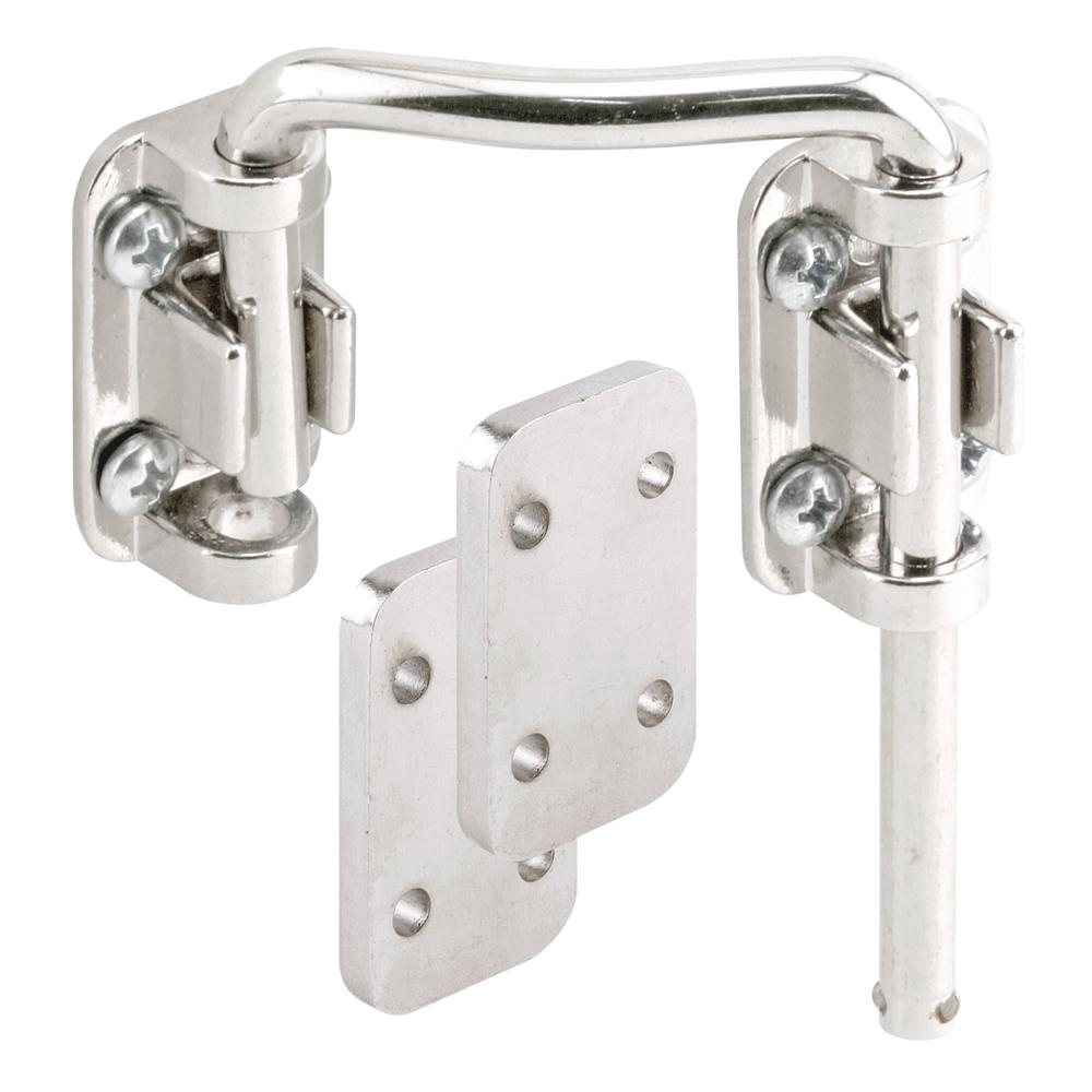First Watch Security Chrome Keyed Patio Door Lock With