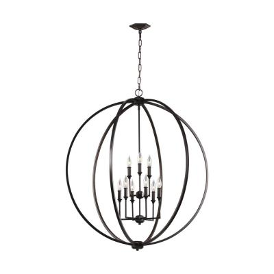 Corinne 9-Light Oil Rubbed Bronze Chandelier