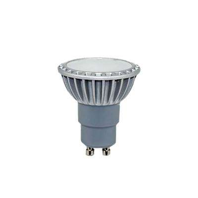 60-Watt Equivalent Dimmable LED GU10 3000K 120-Volt Clear Light Bulb