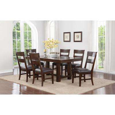 Alden 7 Piece Walnut Dining Set