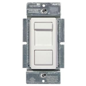 white leviton dimmers r50 ipl06 10m 64_300 leviton decora sureslide universal 150w led cfl incandescent slide Leviton LED Dimmer Switch at soozxer.org
