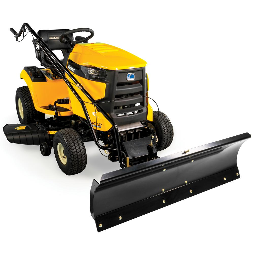 Heavy Duty All Season Plow For Cub Cadet Xt1 And Xt2 Lawn Mowers 2017 After