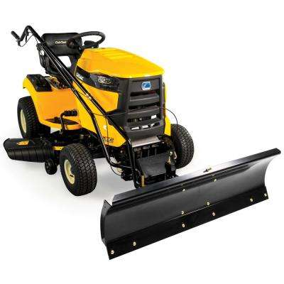 FastAttach 46 in  Heavy Duty All-Season Plow for Cub Cadet XT1 and XT2 Lawn  Mowers (2015 and After)