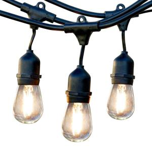 Newhouse Lighting 25 Ft Outdoor String Lights Commercial