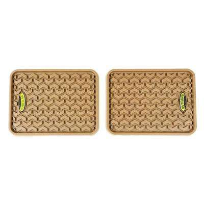 Tan Universal Rear Floor Liner