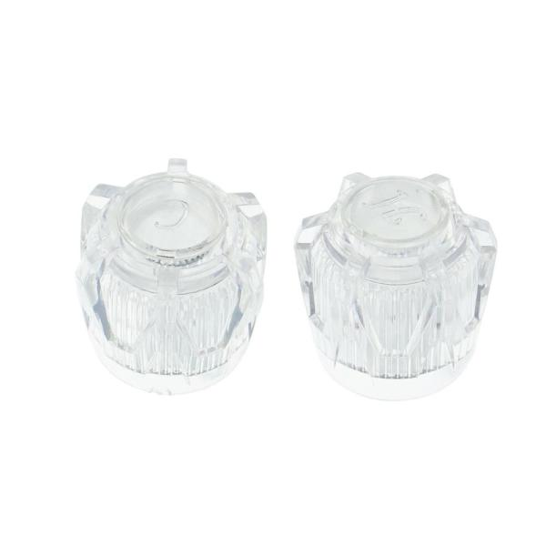 Clear Acrylic J Broach Faucet Handle Replacement