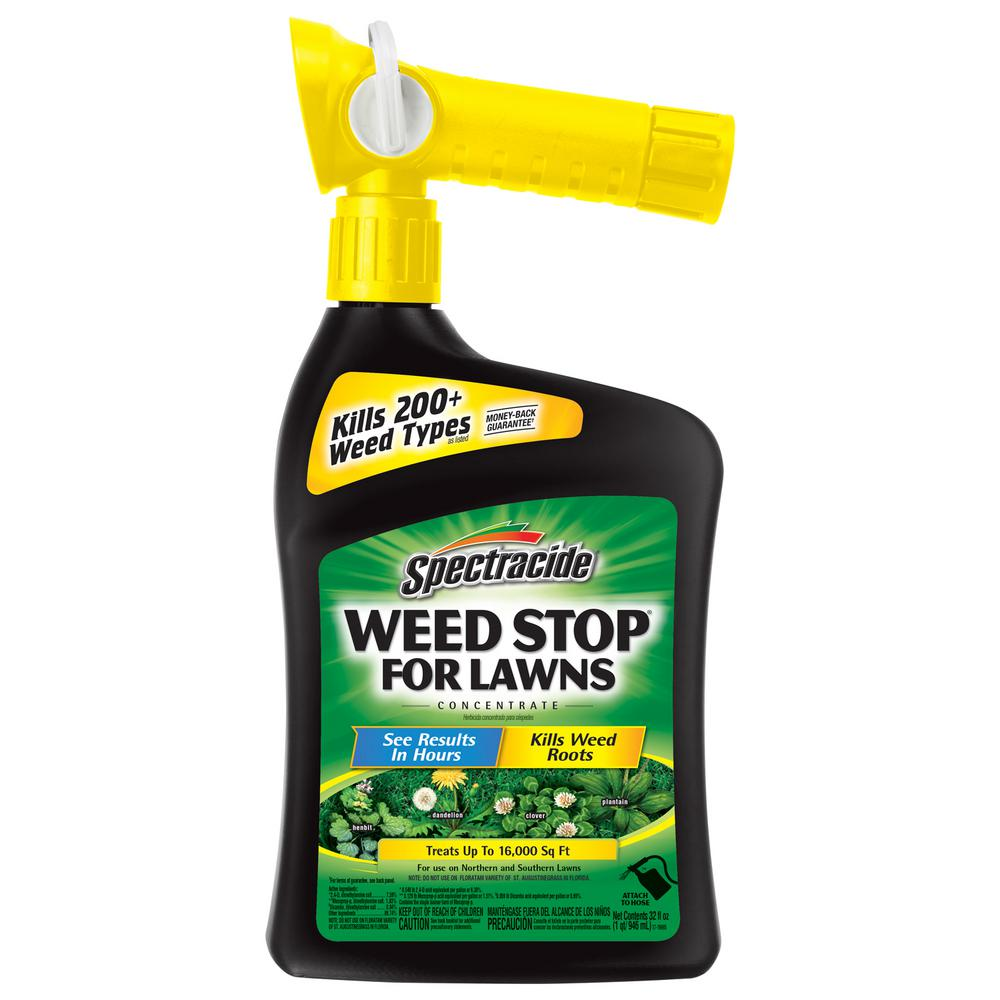 Spectracide Weed Stop 32 oz. Ready-to-Spray Concentrate f...