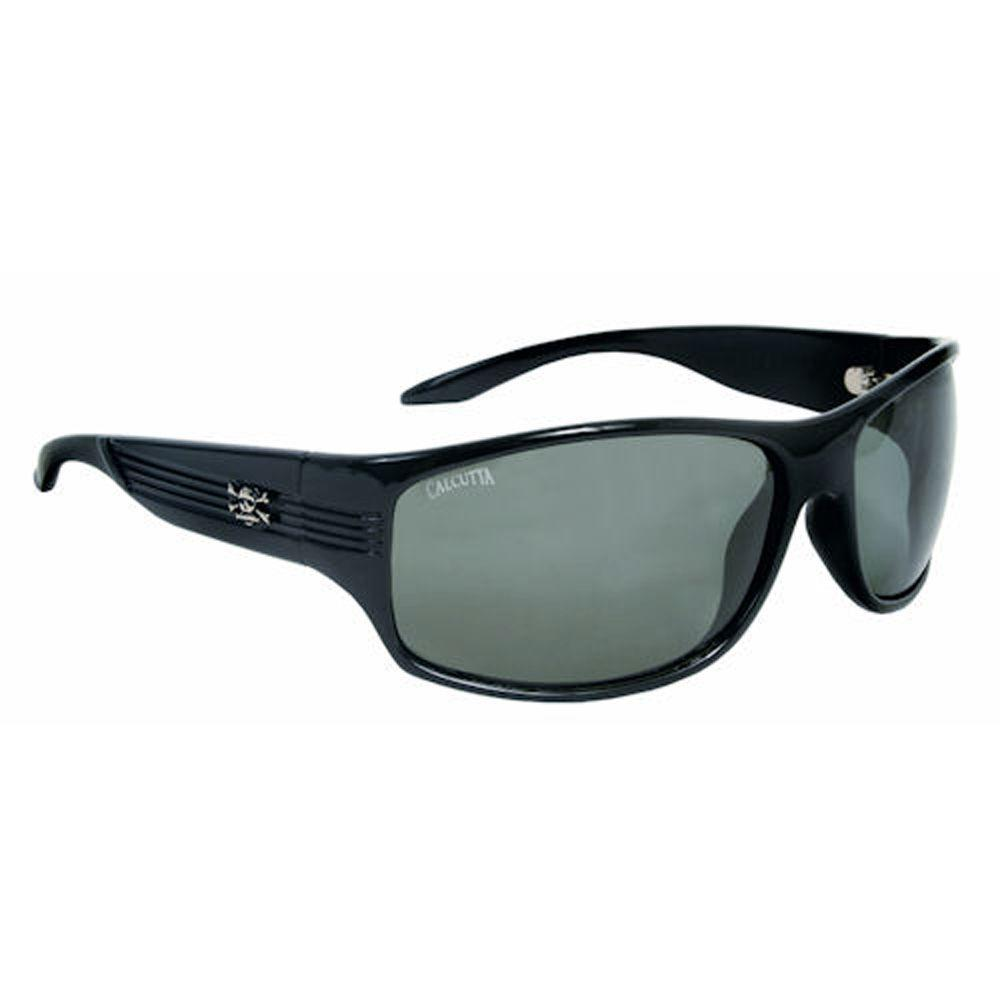Black Frame Express Sunglasses with Lenses in Gray