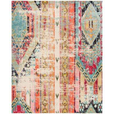 Monaco Multi 9 ft. x 12 ft. Area Rug