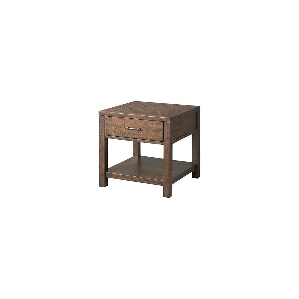 Dex Walnut End Table
