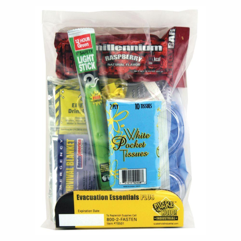 Evacuation Essentials Plus Kit (6-Pack)