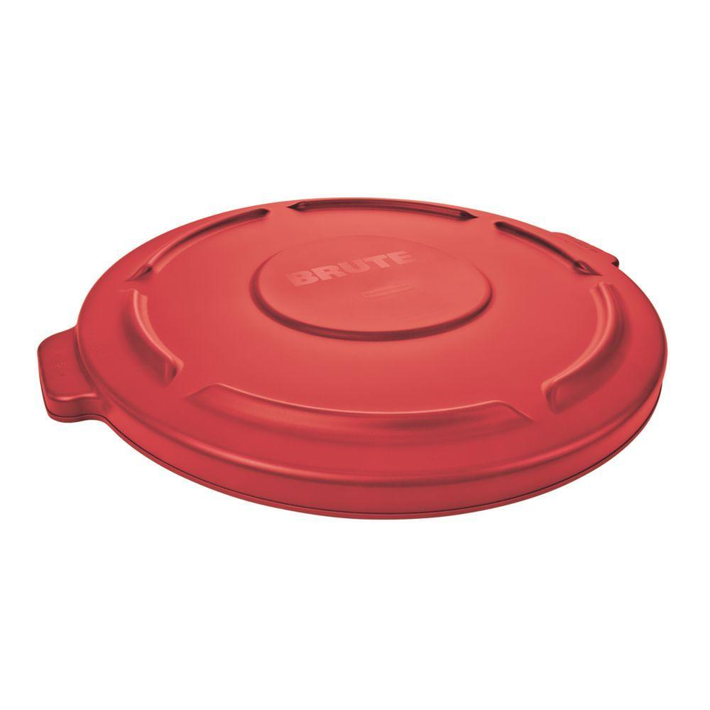 Rubbermaid Commercial Products Brute 32 Gal Red Round