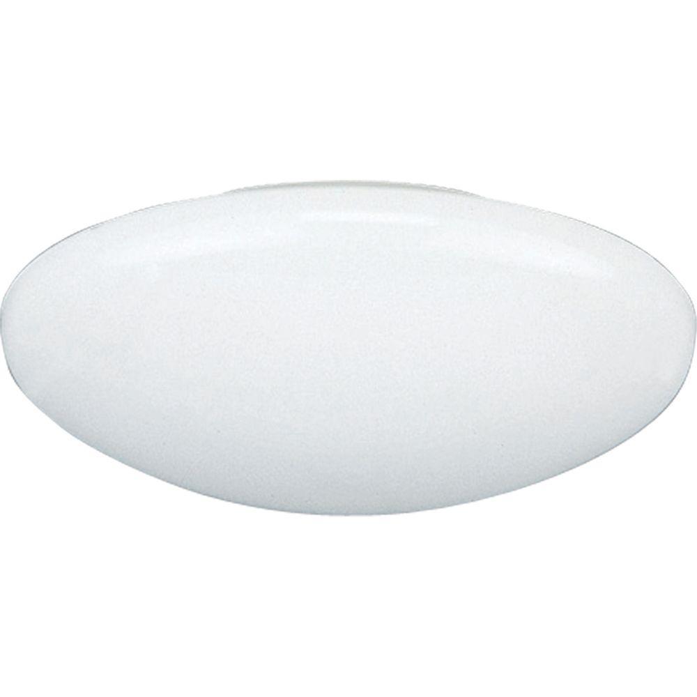 Progress Lighting 6 In. White Recessed Dome Shower Trim