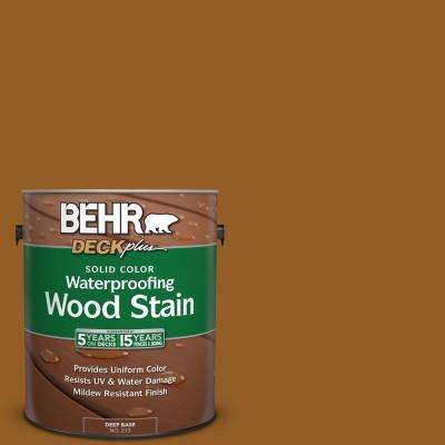 1 gal. #SC-134 Curry Solid Color Waterproofing Exterior Wood Stain