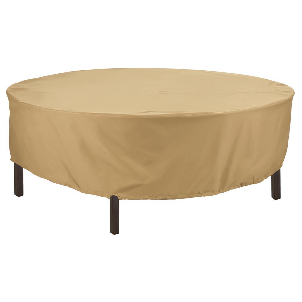Terrazzo 94 in. Dia Round Patio Table Cover