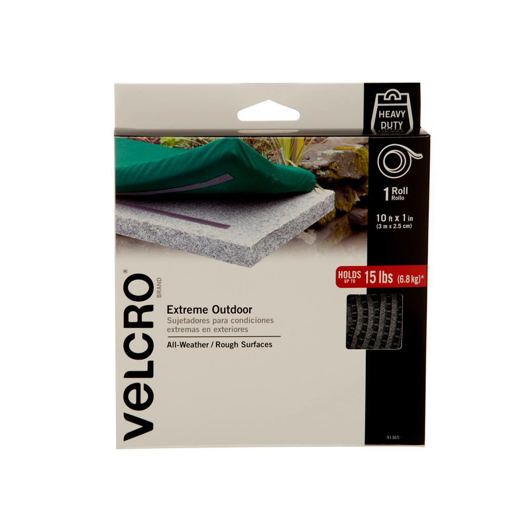 Velcro Brand 10 Ft X 1 In Extreme Titanium Tape 91365