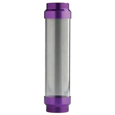 UltraView Clear Tube with Purple Ends