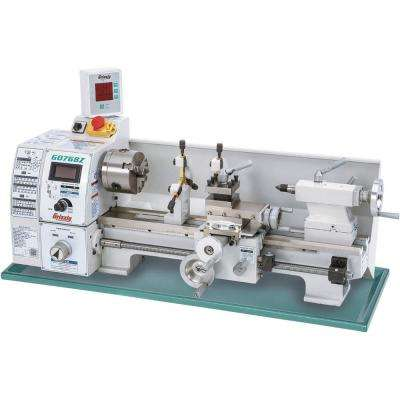 8 in  x 16 in  Variable-Speed Lathe with DRO