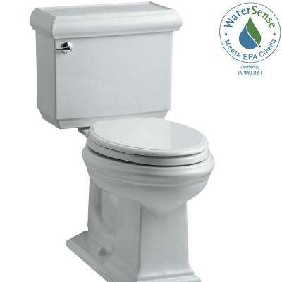 Memoirs Classic 2-piece 1.28 GPF Single Flush Elongated Toilet with AquaPiston Flush Technology in Ice Grey