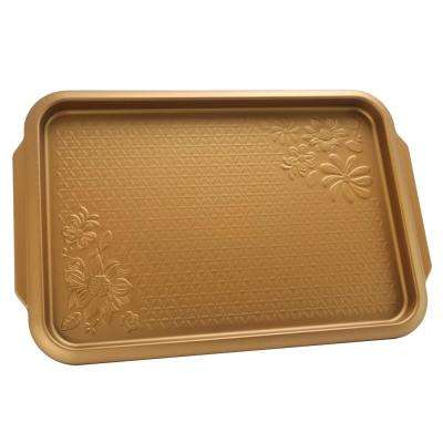 Country Kitchen 15 in. Embossed Carbon Steel Copper Cookie Sheet