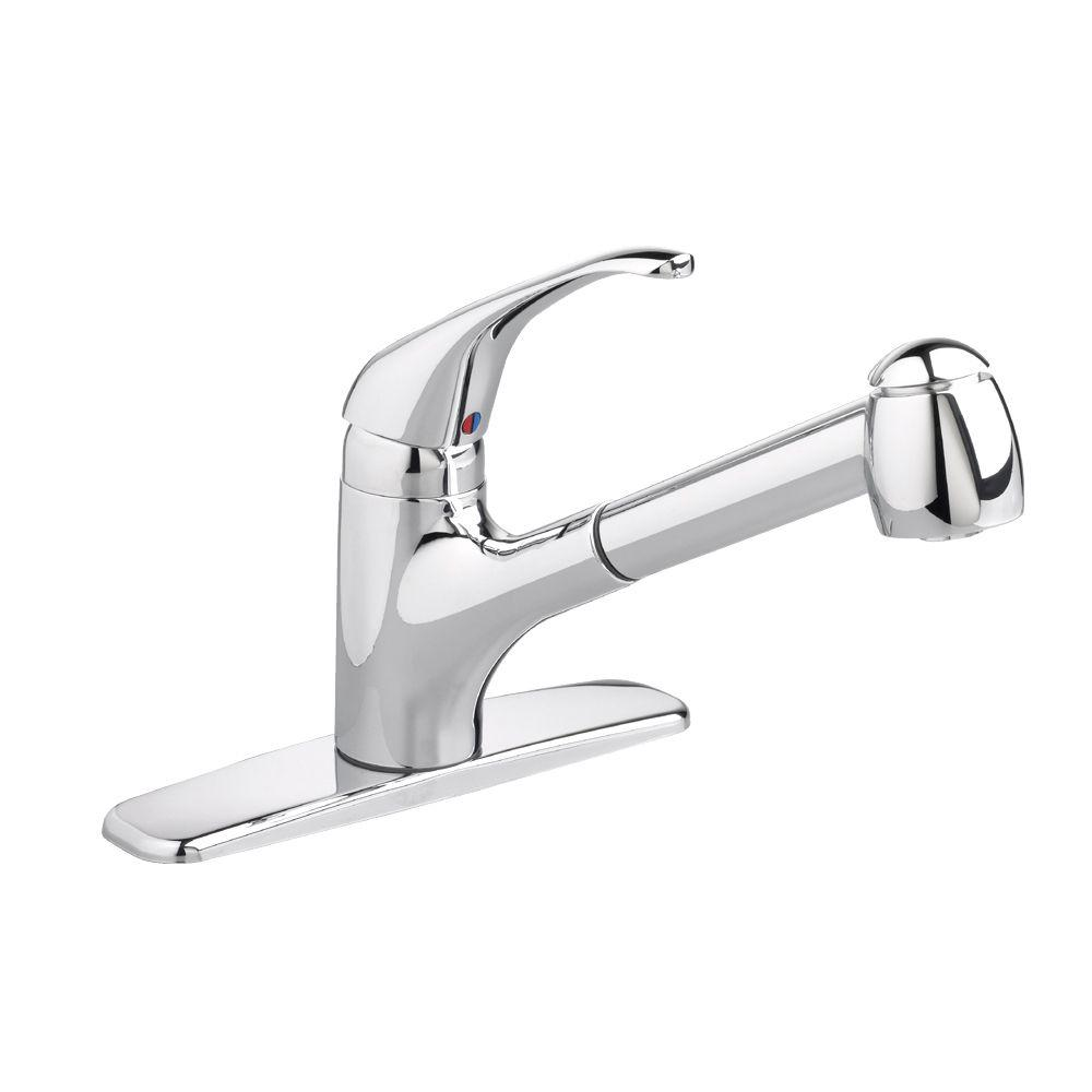 American Standard Reliant Plus Single-Handle Pull-Out Sprayer ... | (title} | american standard reliant kitchen faucet