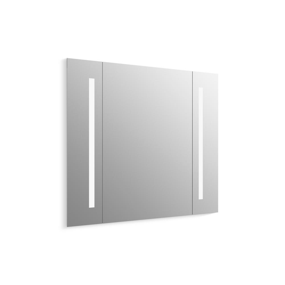 Bathroom mirrors bath the home depot verdera 40 in amipublicfo Image collections