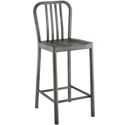 Silver Clink Counter Stool