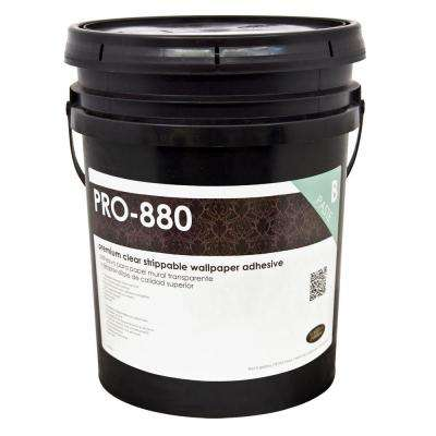 PRO-880 5 Gal. Ultra Clear Premium Strippable Clear Adhesive