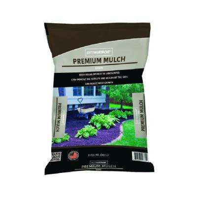 2 cu. ft. Premium Quality Brown Mulch