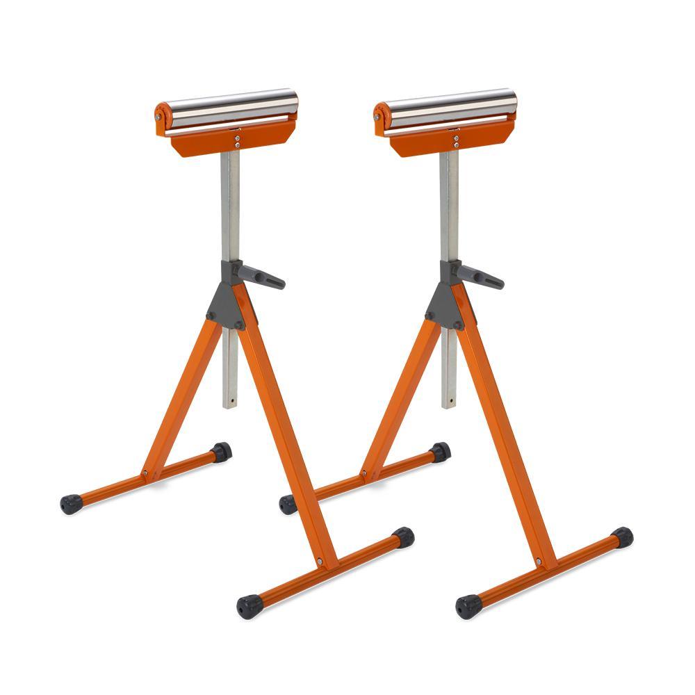 A-Frame Pedestal Roller Stand (2-Pack)
